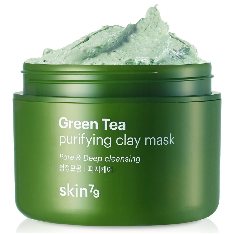 Маска Skin79 Green Tea Purifying Clay Mask маска it s skin green tea watery mask sheet 1 шт