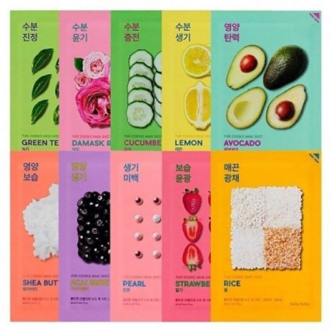 Маска Holika Holika Pure Essence Mask Sheet (Strawberry ) крем моделирующий toni