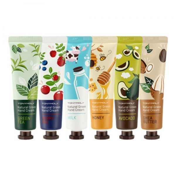 Крем Tony Moly Natural Green Hand Cream (Shea butter) крем etude house hand bouquet rich butter hand cream