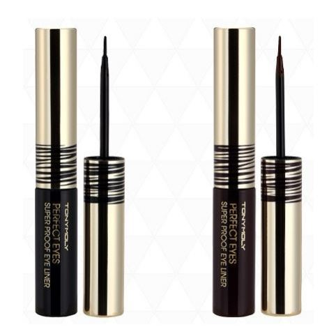 Подводка Tony Moly Perfect Eyes Super Proof Eye Liner (02) l oreal подводка super liner perfect slim 3 оттенка 1 мл green