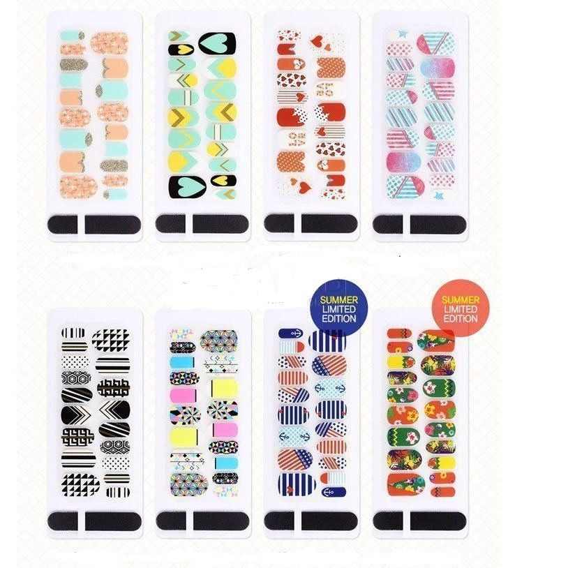 Наборы Tony Moly Professional Design Nail Patch (11)
