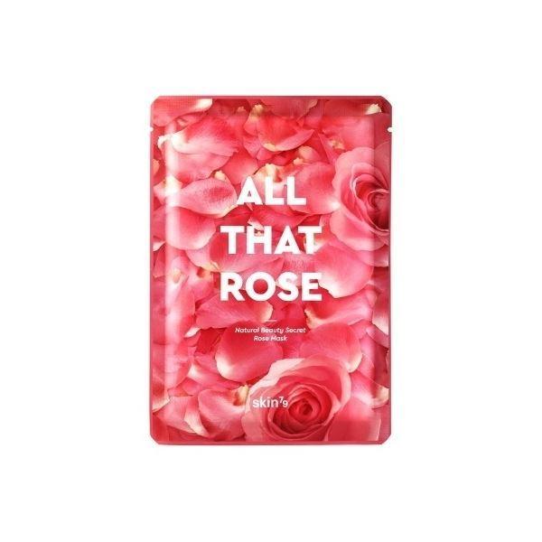 Маска Skin79 All That Rose Mask (1 шт) маска золотистая из никеля с имитацией кристаллов entice mystique mask rose gold