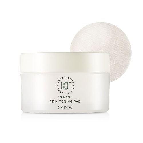 Салфетки Skin79 10 Fast Skin Toning Pad (60 шт) it s skin средстводляснятиямакияжас
