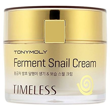 Крем Tony Moly Timeless Ferment Snail Cream 50 мл спонж tony moly water latex free sponge 1 шт