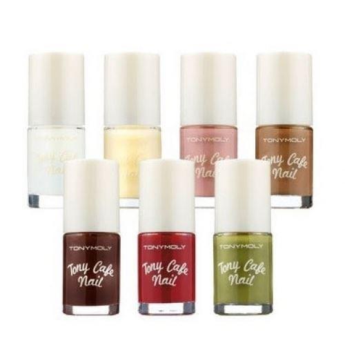 Лак для ногтей Tony Moly Tony Cafe Nail (CN04) лаки для ногтей isadora лак для ногтей wonder nail 527 6 мл