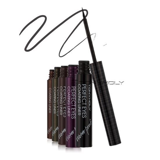 Подводка Tony Moly Perfect Eyes Coating Liner Waterproof (04) l oreal подводка super liner perfect slim 3 оттенка 1 мл green