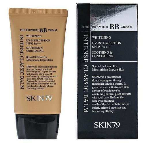 Тональный крем Skin79 Intense Classic Balm The Premium BB Cream SPF35 PA++ (43.5 г) bb крем the face shop photo blur bb cream spf37 pa объем 40 мл