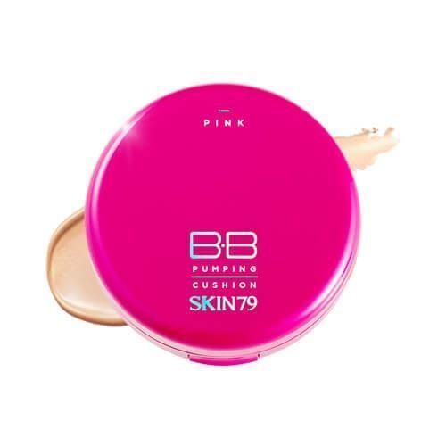 Тональный крем Skin79 Pink BB Pumping Cushion SPF50 PA+++ (23 натуральный бежевый)