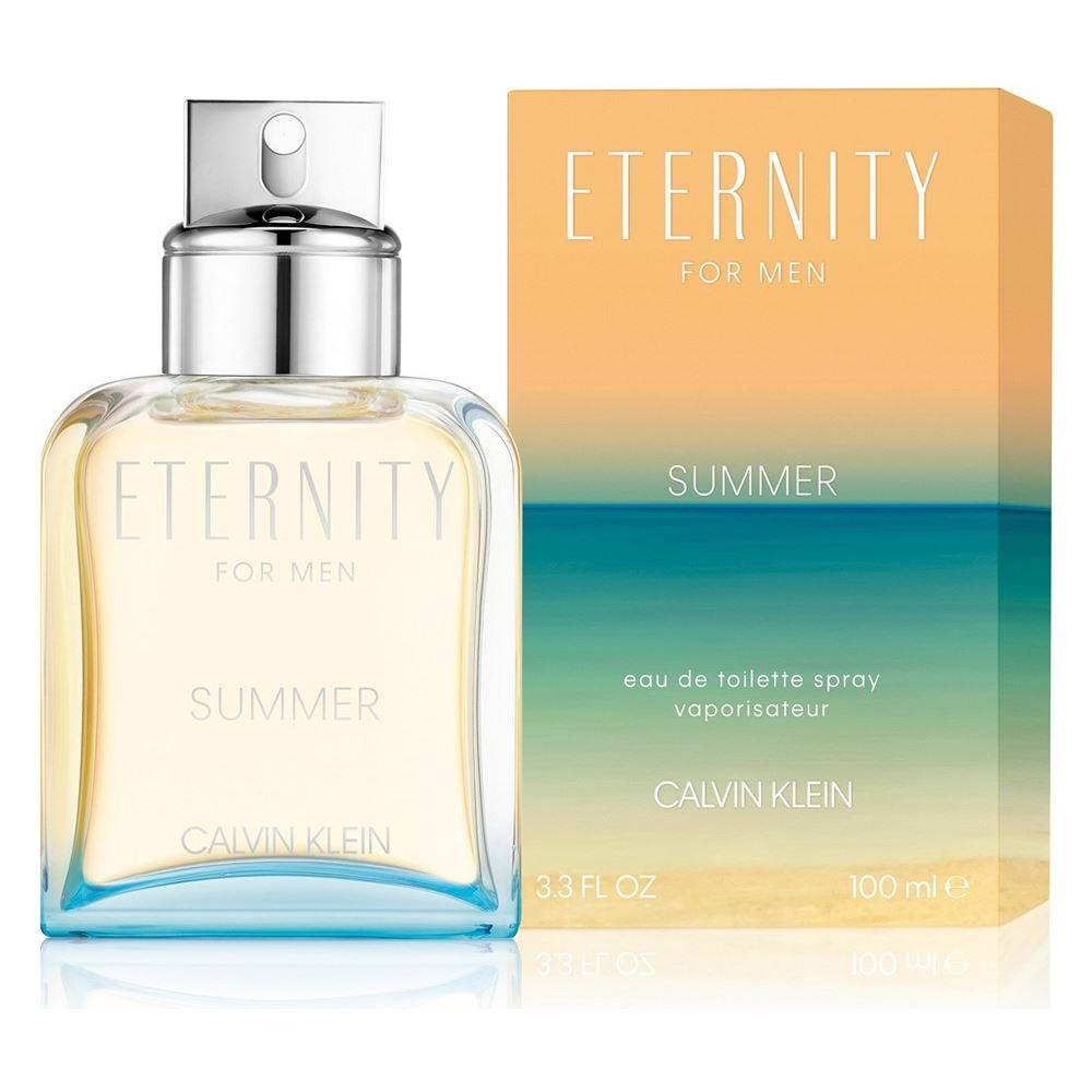 Туалетная вода Calvin Klein Eternity Summer for Men 100 мл intuition for men туалетная вода 100 мл