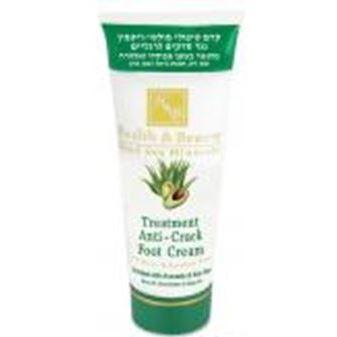 Крем Health & Beauty Treatment Anti-Crack Foot Cream Enriched With Avocado & Aloe Vera sea of spa крем для ног против трещин с маслом авокадо и алое вера 100 мл