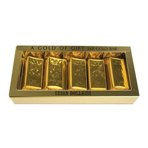 Набор: Мыло Baviphat Urban Dollkiss Agamemnon 24K Gold Bar Set (Набор:  100 г х 5 шт) набор тональный крем baviphat urban dollkiss city inner booster cushion set spf pa