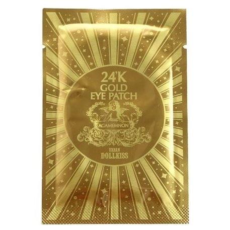 Пластырь Baviphat Urban Dollkiss Agamemnon 24K Gold Hydrogel Eye Patch (2.8 г) beauugreen патчи гидрогелевые для глаз с экстрактом морского огурца и пудрой черного жемчуга hydrogel sea cucumber