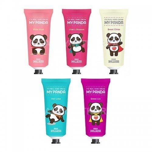 Крем Baviphat Urban Dollkiss It's Real My Panda Hand Cream (White Musk) набор тональный крем baviphat urban dollkiss city inner booster cushion set spf pa