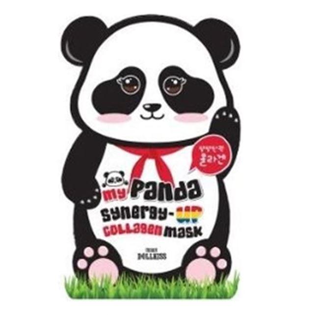 Маска Baviphat My Panda Synergy-Up Collagen Mask Pack (1 шт) маска elizavecca gold cf nest collagen jella pack mask
