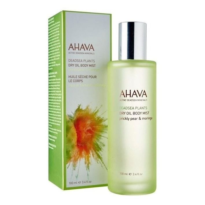 Масло Ahava Plants Сухое масло для тела опунция и моринга 100 мл ahava deadsea plants dry oil moringa and prickly pear body mist объем 100 мл