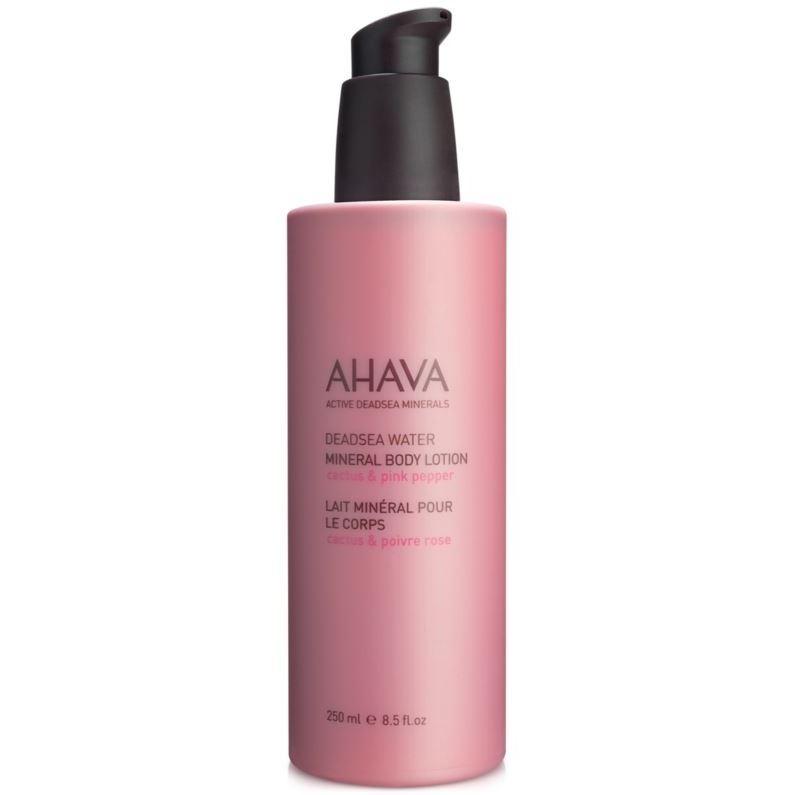 Лосьон Ahava Минеральный крем для тела Кактус и Розовый Перец 250 мл недорого