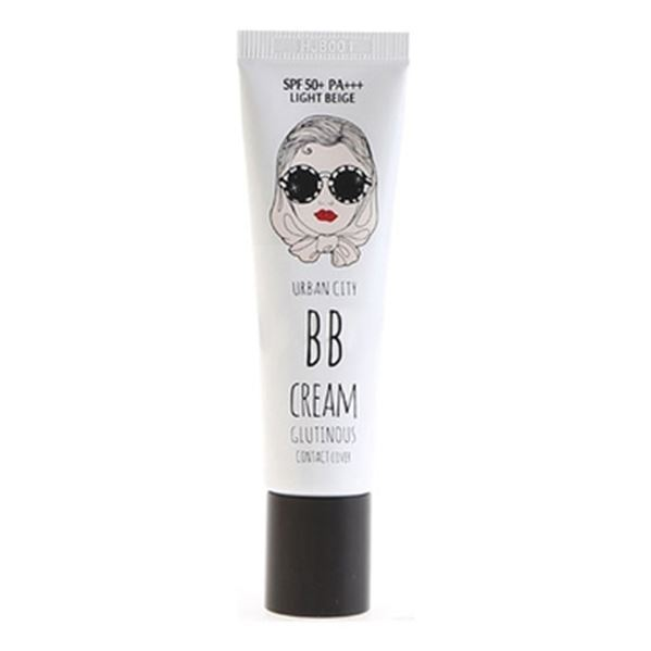Тональный крем Baviphat Urban City Glutinous Contact Cover BB SPF50+ PA+++ (21 Light Beige) bb крем