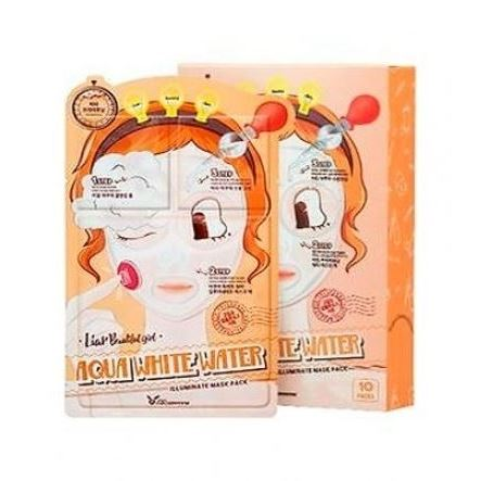 Маска Elizavecca 3-Step Aqua White Water Mask Pack 25 мл тканевая маска secret a skin guardian aqua 3 step total facial mask