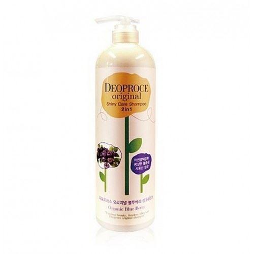 Шампунь Deoproce Original Shiny Care 2 in 1 Shampoo Blueberry 1000 мл лосьон deoproce coenzyme q10 firming lotion