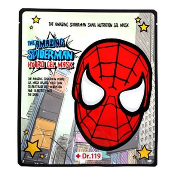 Маска Baviphat Dr.119 The Amazing Spiderman Snail Nutrition Gel Mask (1 шт) тонизирующая тканевая маска baviphat dr 119 farewell my concubine yellow lucky mask