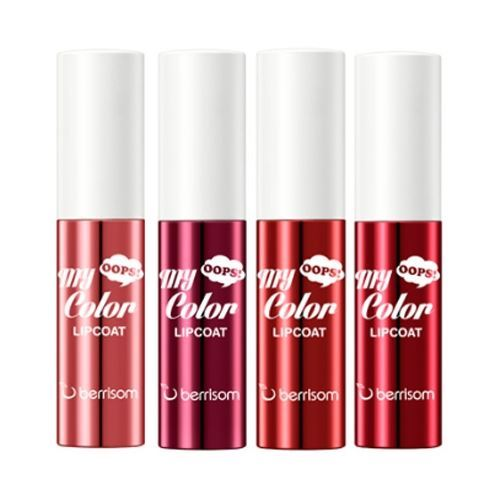 Блеск для губ Berrisom Oops My Color Lip Coat Enamel  (03 ) блеск для губ berrisom oops my color lip coat velvet 04