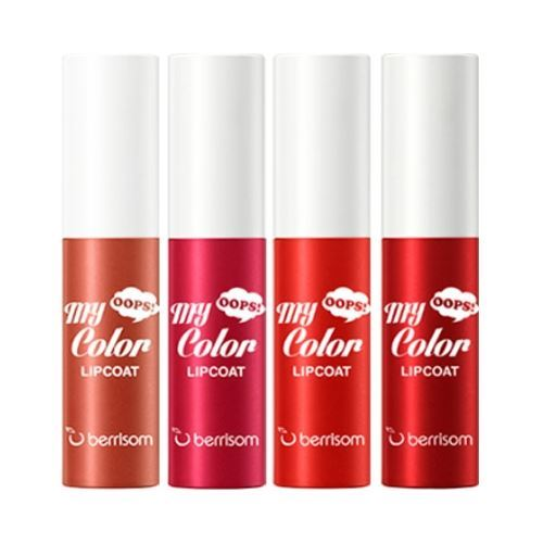 Блеск для губ Berrisom Oops My Color Lip Coat Velvet  (04 ) блеск для губ berrisom oops my color lip coat velvet 04