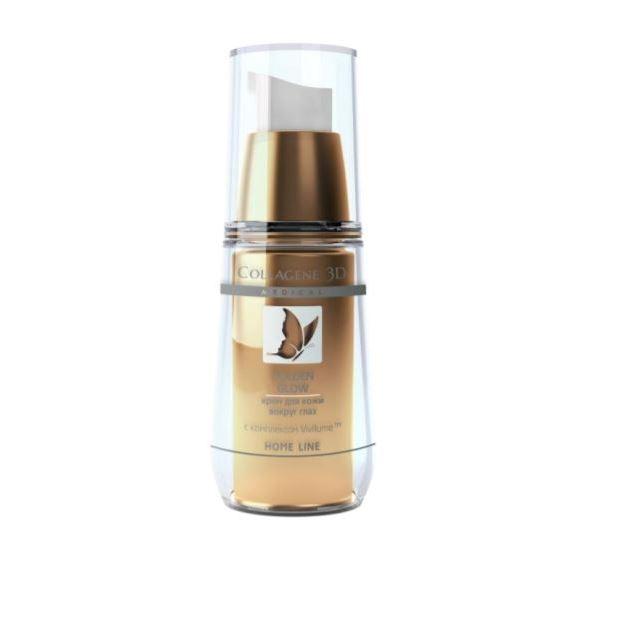 Корректоры Medical Collagene 3D Golden Glow Eye Cream medical collagene 3d коллагеновый гель контур для области вокруг глаз medical collagene 3d eye care eye contour gel 13006 15 мл