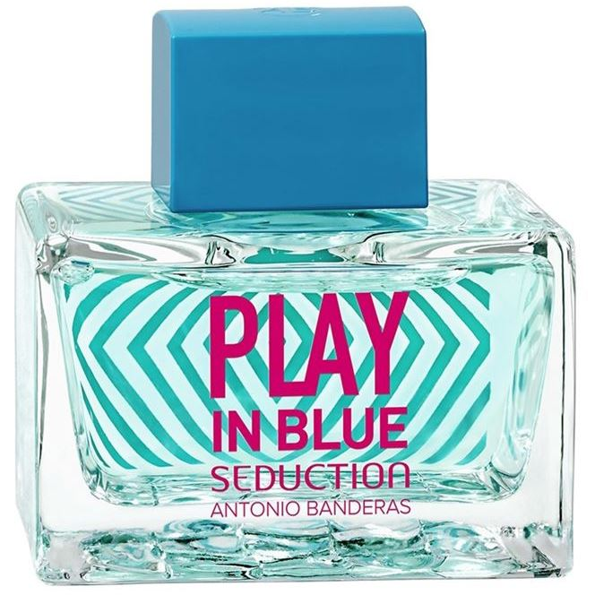Туалетная вода Antonio Banderas Play In Blue Seduction For Women 80 мл antonio banderas туалетная вода blue splash seduction for women 100 ml