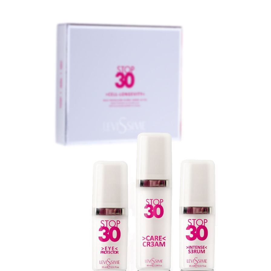 Набор: Крем Levissime Stop 30 Pack набор масло levissime home spa body pack