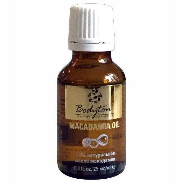 Масло Bodyton Macadamia Oil 25 мл масло kativa morocco argan oil nuspa масло