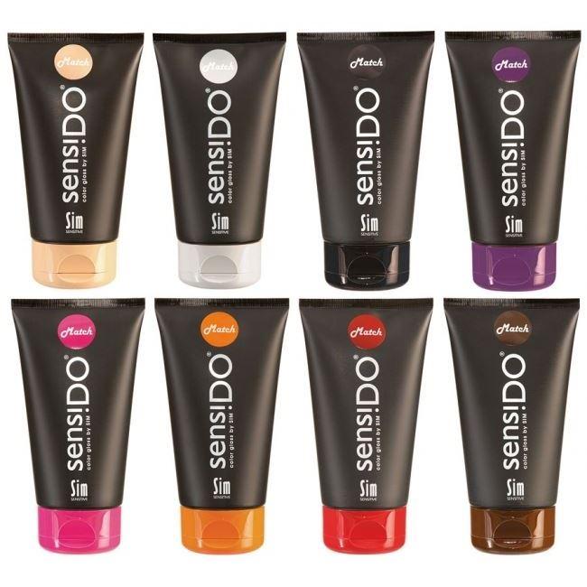 Краска для волос Sim Sensitive SensiDo Match Color Gloss By Sim (Tangelo) sim sensitive оттеночный бальзам sim sensitive 5295
