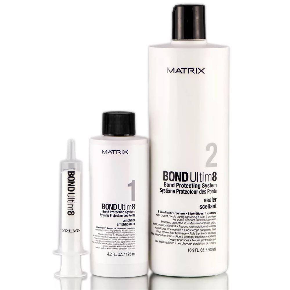 Набор Matrix Bond Ultim8 Salon Kit (Набор) крем schwarzkopf professional fibreplex 2 bond sealer 500 мл