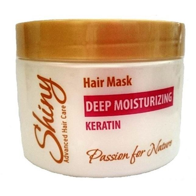 Маска Shiny Deep Moisturizing Hair Mask Keratin недорого