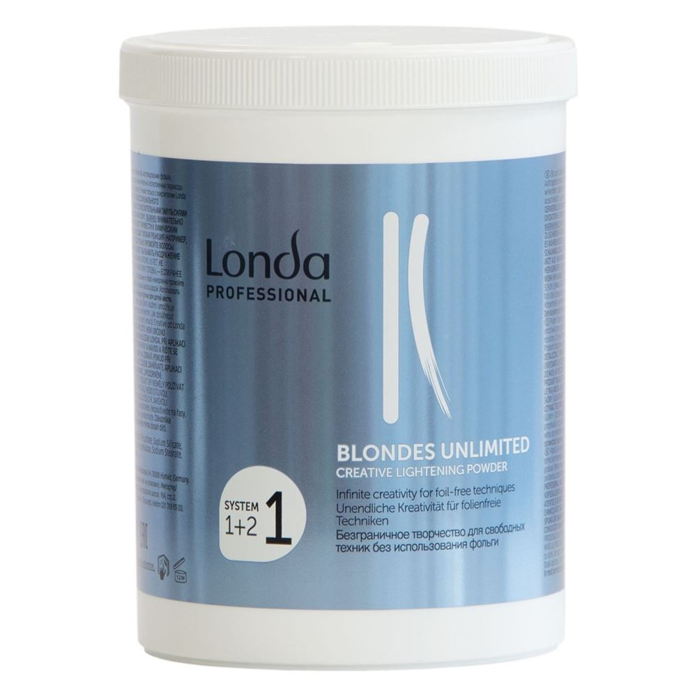 Краска для волос Londa Professional Blondes Unlimited Creative Lightening Powder orofluido осветляющая пудра для бережного мелирования 240 гр