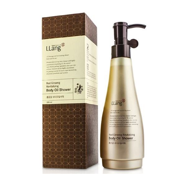 Масло LLang Red Ginseng Revitalizing Body Oil Shower 285 мл кондиционер llang red ginseng energizing hair conditioner объем 500 мл