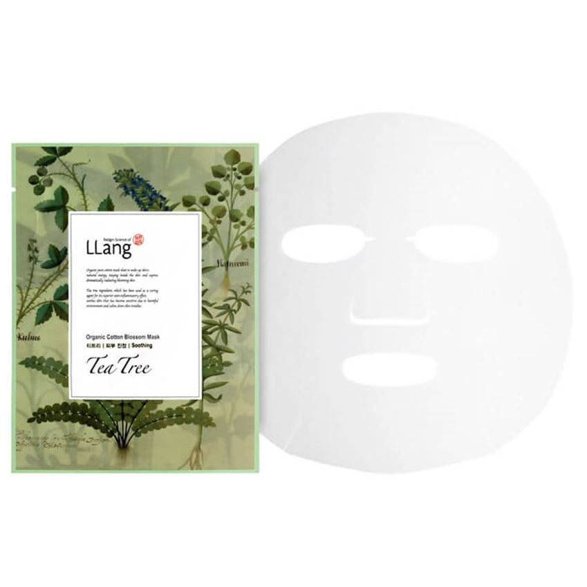 Маска LLang Organic Cotton Blossom Mask (Tea Tree)