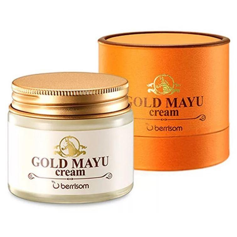 Крем Berrisom Gold Mayu Cream (70 г) косметика для мамы ardo ланолиновый крем для сосков gold cream 10 мл