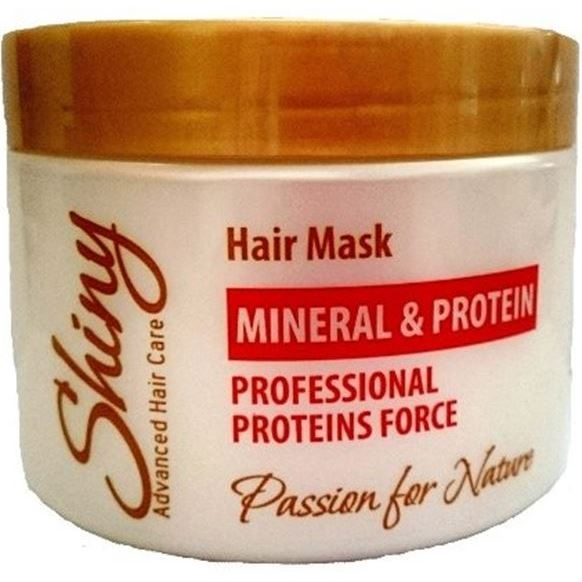 Маска Shiny Professional Proteins Force Mineral & Protein Hair Mask маска keen protein mask
