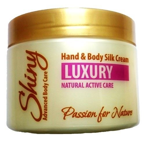 Крем Shiny Natural Active Care Luxury Hand & Body Silk Cream 400 мл недорого