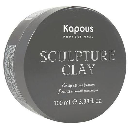 Воск Kapous Professional Sculpture Clay Strong Fixation 100 мл bonacure текстурирующая глина 3dmen texture clay объем 100 мл