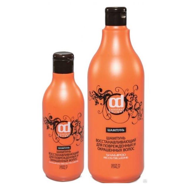 Шампунь Constant Delight Шампунь восстанавливающий для поврежденных и окрашенных волос шампунь cosmedic шампунь для окрашенных волос