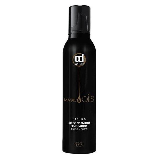 Мусс Constant Delight 5 Magic Oils Fixing Мусс сильной фиксации 250 мл недорого