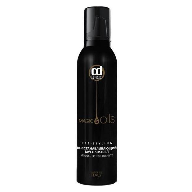 Мусс Constant Delight 5 Magic Oils Pre-Styling Восстанавливающий мусс 5 Масел 250 мл шампунь глубокой очистки pre styling 5 magic oils
