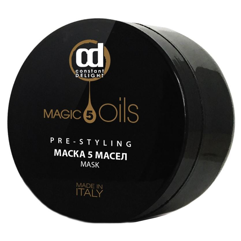 Маска Constant Delight 5 Magic Oils Pre-Stylin Маска 5 Масел 500 мл magic man лица серии маска розового кружева сладкие слова увлажняющая маска 30г 5
