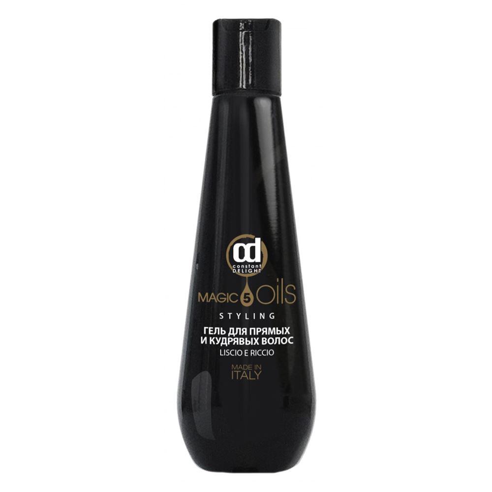 Гель Constant Delight 5 Magic Oils Styling Гель для прямых и кудрявых волос 200 мл magic leverag для длинных волос