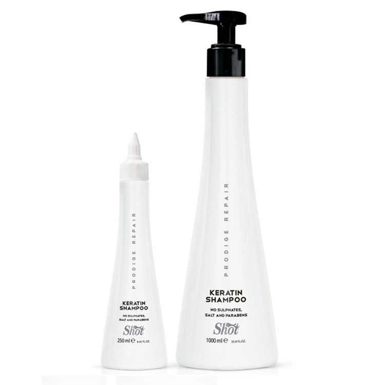 Шампунь Shot Keratin Shampoo 950 мл aussie шампунь repair miracle для поврежденных волос 300 мл