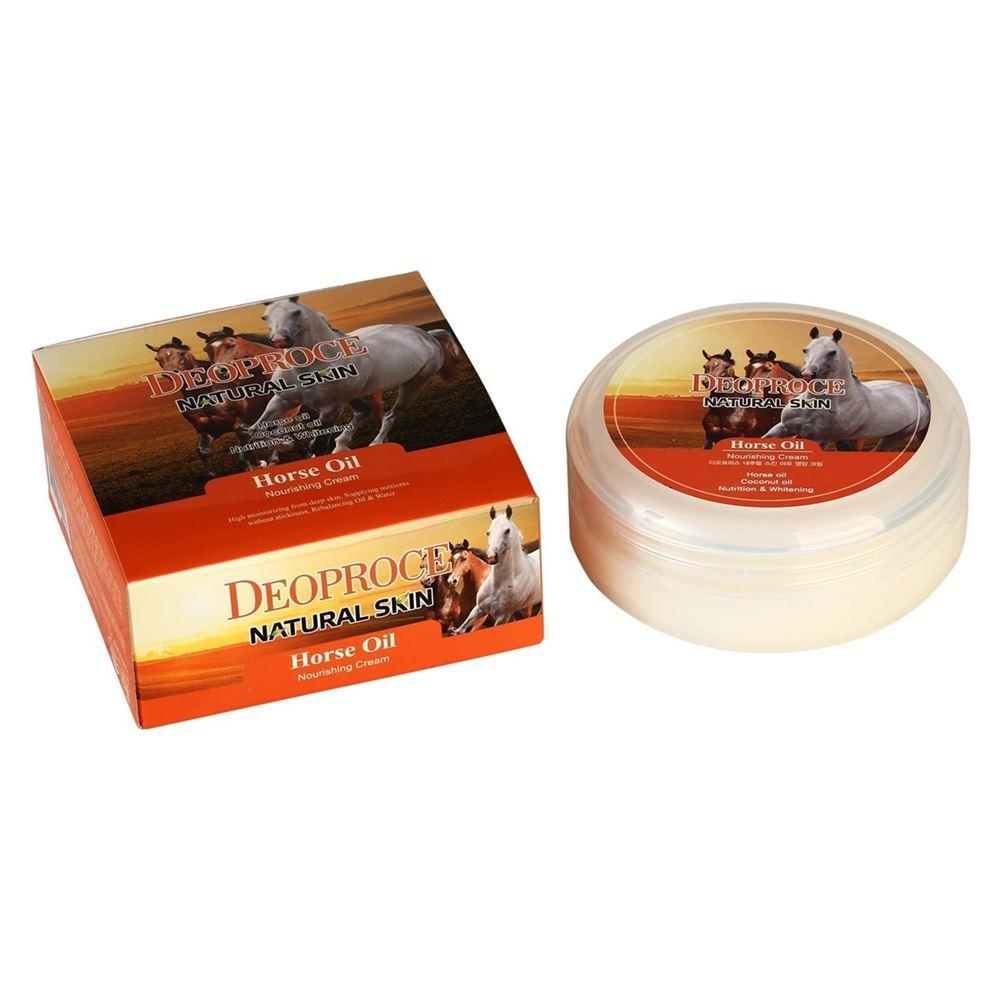 Крем Deoproce Horse Oil Nourishing Cream (100 г) крем horse forse крем буренка
