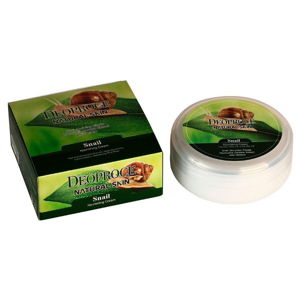 Крем Deoproce Snail Nourishing Cream (100 г) крем deoproce cucumber nourishing cream