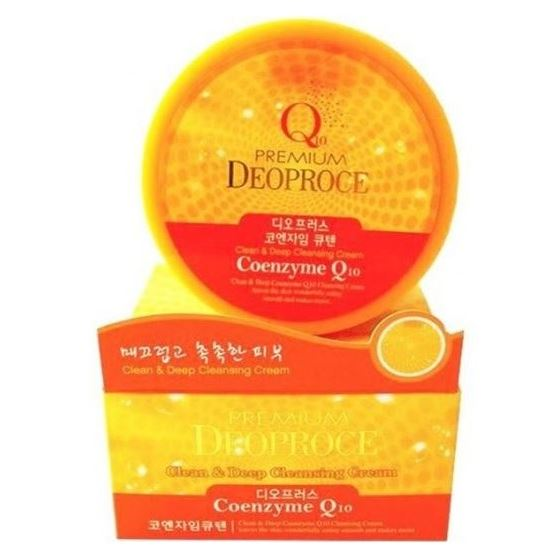 Крем Deoproce Premium Cleen & Deep Cleansing Cream (Vegetable) крем deoproce daily a mink oil deep nutrition cream 50 г