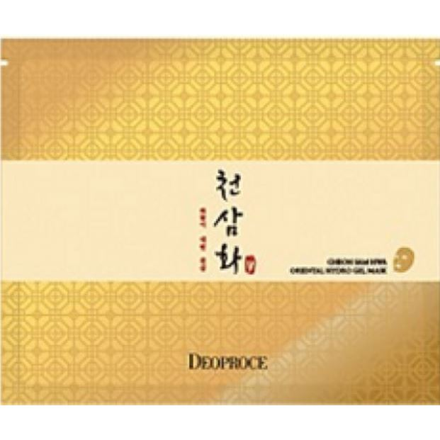 Маска Deoproce Whee Hyang Anti-Wrinkle Cheon Sam Hwa Oriental Hydro Gel Mask  (1 шт) недорого